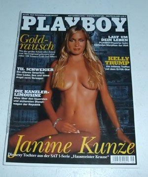 Playboy Magazin September 2002 Zeitschrift Original Deutsche Ausgabe 9/2002 JANINE KUNZE, PLAYMATE: KATRIN DRÄGER
