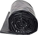 TEICHWERKplan Teichfolie PVC 2 x 5 m schwarz 0,5mm Teich Folie 10 m² Gartenteichfolie Gartenteich Koiteich Bachlauf Plane Pond