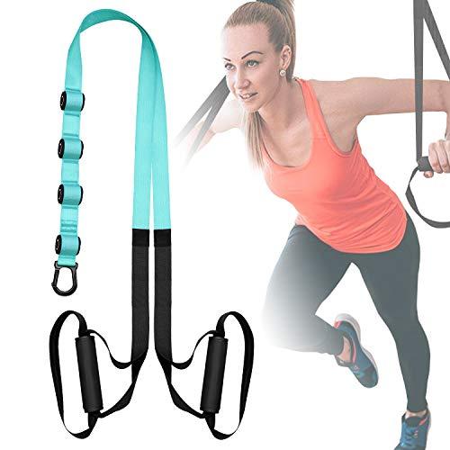 FITOP Entrenamiento en Suspensión Entrenador de Suspensión de Fitness Pro Ejercicio para Fortalecimiento Resistencia y Tonificación Muscular Juego de Accesorios para Ejercicio Carga hasta 500 Kg