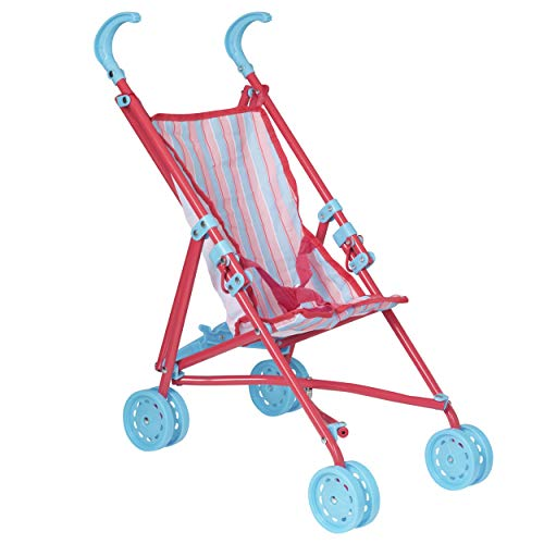 HTI Toys Dream Creations Stroller Buggy | Childrens Baby Doll Pram Pushchair Toy Great For Girls & Boys Aged 3+