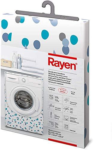 Rayen | Coperchio lavatrice medio | coperchio per lavatrice a caricamento frontale Copri lavatrice e asciugatrice con cerniera | 84 x 60 x 60 cm
