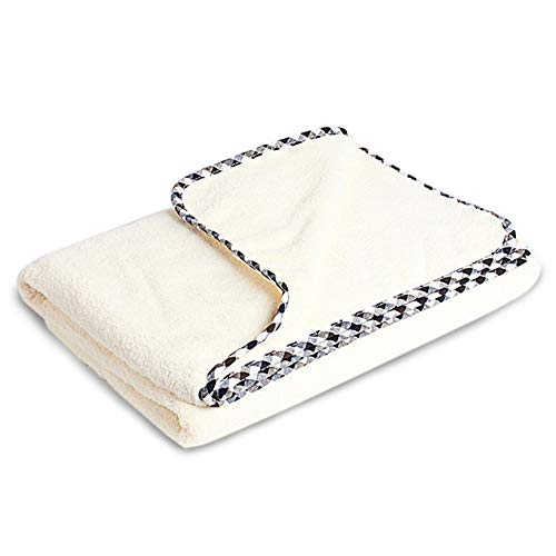 ACKW Ultra zachte microvezel badhanddoek, zeer absorberende pluizige badkamer handdoek, sneldrogende, gemakkelijk te onderhouden badblad voor zwembad, spa, en fitnessruimte
