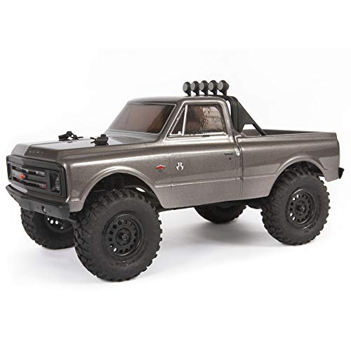 Axial SCX24 1967 Chevrolet C10 1/24 4WD-RTR SILEVR AXI00001T2 24th Micro Scaler