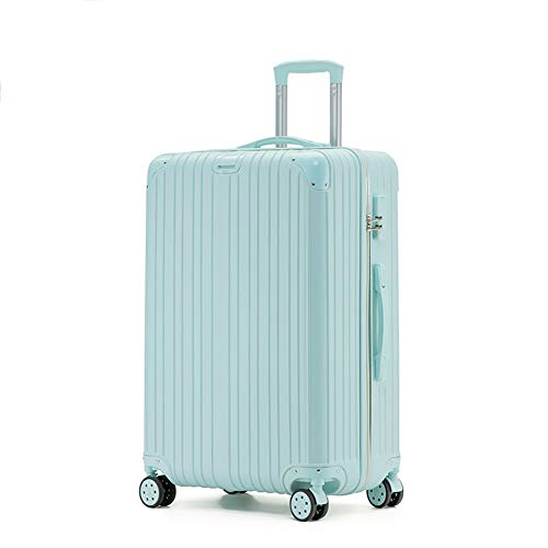 Rechargeable Trolley Luggage Student Travel Luggage Universal Wheel Boarding Suitcase(20'/22'/24'/26') (20',A)