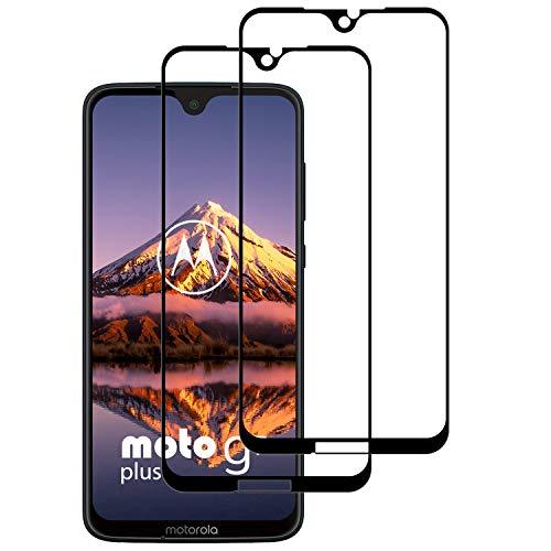 DOSNTO Bildschirmschutzfolien Kompatibel mit Motorola Moto G7 Plus [2 Stück] 3D Panzerglasfolie Durable Anti-Kratzer High Sensitive Blasenfreie Starke Klebefolie Blendschutz Panzerglas