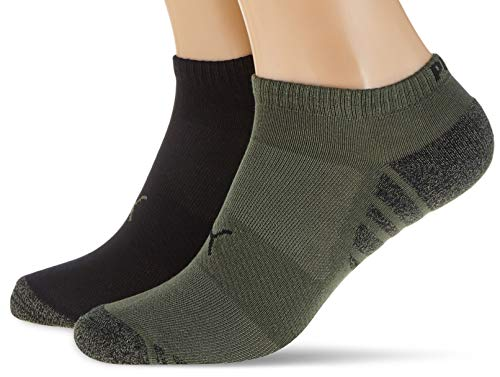 PUMA Mens Statement Men's Sneaker-Trainer (2 Pack) Casual Sock, Army Green, 43/46 (2er Pack)