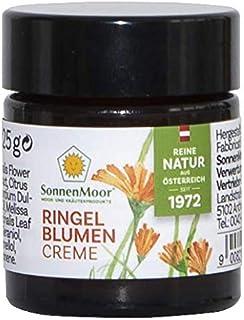 Sonnenmoor Ringelblumensalbe - Naturkosmetik Creme zur Pflege von trockener, rauer und rissiger Haut 25 Gramm