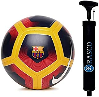 RASCO Combo 12 Panel RED Size 5 Football with AIR Pump