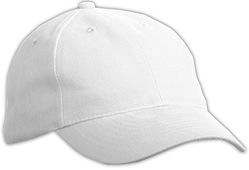 MYRTLE BEACH 6 Panel Softlining Raver Cap in White Taille: Taille Unique