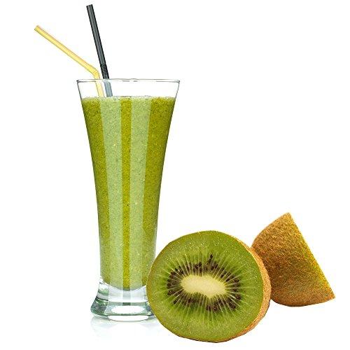 Kiwi Geschmack Eiweißpulver Milch Proteinpulver Whey Protein Eiweiß L-Carnitin angereichert Eiweißkonzentrat für Proteinshakes Eiweißshakes Aspartamfrei (1 kg)