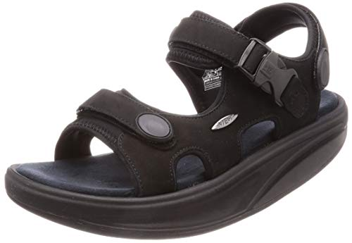 MBT Herren Kisumu Classic M Sneaker, Schwarz Nubuck, 43 EU