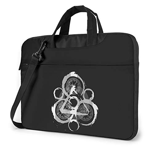 DFHDFH Coheed and Cambria Laptop Bag Laptop Sleeve Case with Shoulder Straps & Handle/Notebook Computer Case Briefcase Compatible 14 inch