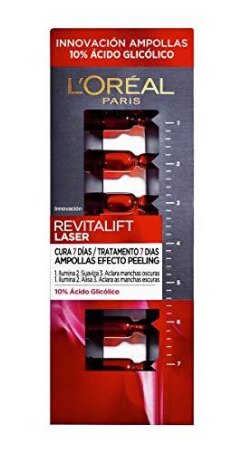 L'Oréal Revitalift Laser Ampollas Efecto Peeling Con Ácido Glicólico - 7 Unidades...