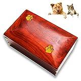 SLT Caja de Urna de cremación para Mascotas, Caja de cremación de...