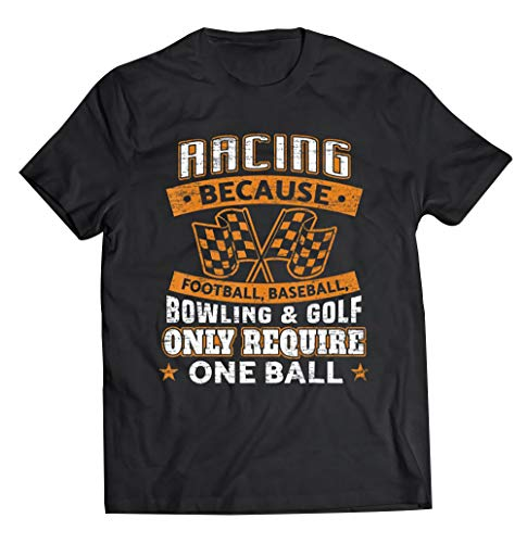 Car Racing Funny Racing One Ball Race Drag Stock Racing, Gift for Men Women
