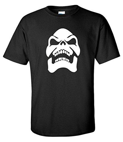 Skeletor Face Heavy Gildan Cotton T-shirt, S to 3XL