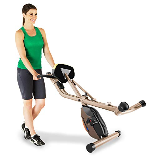 Product Image 6: Exerpeutic Gold Heavy Duty Foldable Exercise Bike with 400 lbs Weight Capacity