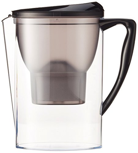 Amazon Basics - Caraffa filtrante per l'acqua, 2.3 L