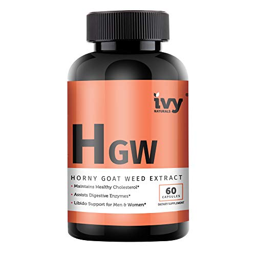 Horny Goat Weed by Ivy Naturals || Male Enhancement & Performance || Improves Circulation & Balances Testosterone || Satisfaction Guaranteed
