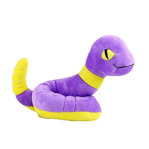 Anime Animals Plush Toy Rattata Ekans Pancham Gastly Rat Snake Panda Ghost Boo Soft Stuffed Dolls Gifts for Children