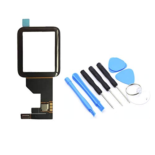 Elviray Digitizer de repuesto para pantalla táctil de 38/42 mm panel de cristal panel de zafiro digitalizador de pantalla táctil frontal para Apple Watch