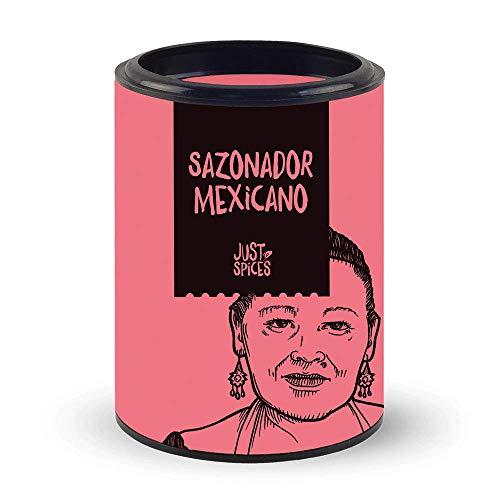 Just Spices Sazonador mexicano, 60g | Para auténticos platos mexicanos, nachos, tacos, wraps, chilis y fajitas