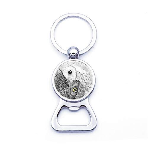 Rysmliuhan Shop KeyRing keychain metal Metal Keyring Bottle opener keychain Glass keychain Car pendant Keychain for gift Handmade Keyring Bag Hanging Keyring 11