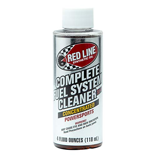 Red Line 60102 Complete Fuel System Cleaner - Powersportrs, 4 Ounce, 2 Pack