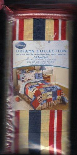 Disney Sports Fan Bed Skirt, Full