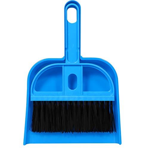 POPETPOP- kleine Tier tragbare Mini-Käfig-Reiniger Reinigungsmittel 1 Satz Kehrschaufel und Pinsel Reinigungswerkzeug für Meerschweinchen Katzen Igel Hamster Chinchillas