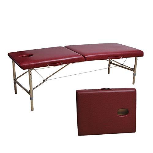 MGW Table de lit de Massage Portable en Acier Inoxydable pour impliquée dans la massothérapie et...