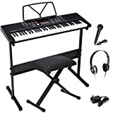 Best Music Keyboards - ZENY 61-Key Portable Electric Keyboard Piano with Built Review