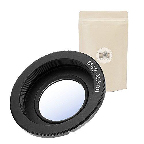 1x M42 AI ? Objektivadapterring für M42 Kompatibel mit Nikon AI F Lens Objektiv Adapter