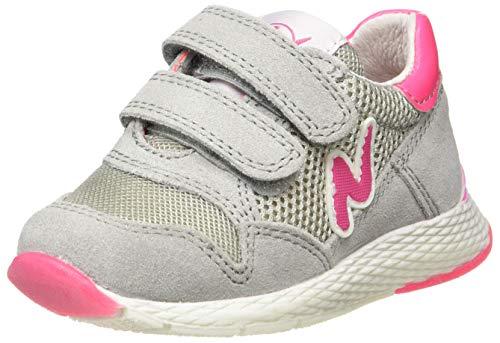 Naturino Jungen Mädchen Sammy Leichtathletik-Schuh, Rosa Grigio Fuxia Fluo 1b43, 32 EU