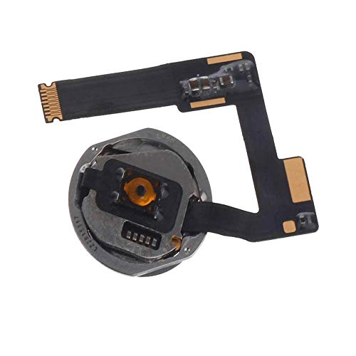 OmniRepairs Home Button Flex Cable Replacement with Rubber Gasket Compatible for iPad Pro (10.5) Models A1701 and A1709 with Repair Toolkit (Black)