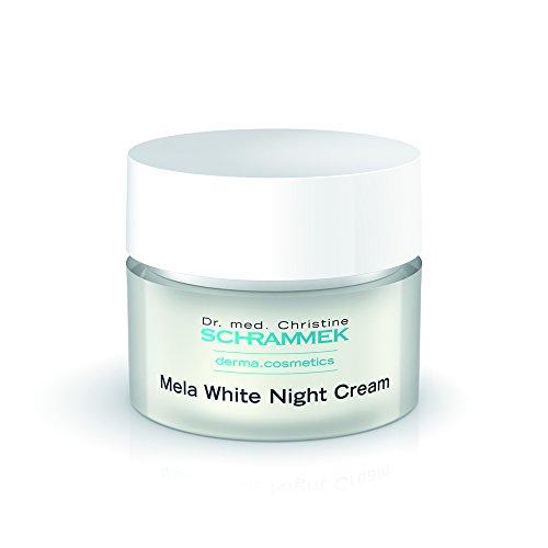 Dr. Med. Christine schrammek Mela White Night Cream 50ml–Noche...
