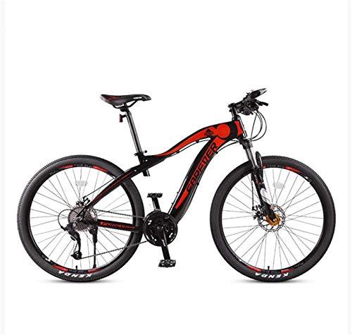 Leggero , Adulti 27.5 pollici Mountain bike, Full Suspension aggiornamento in lega di alluminio da neve Biciclette, doppio freno a disco City Road biciclette, 27 Velocità Liquidazione dell'inventario