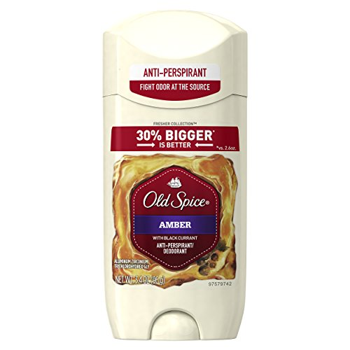 Old Spice Fresher Collection Men's Invisible Solid Anti-Perspirant and Deodorant - Amber - 3.4 oz