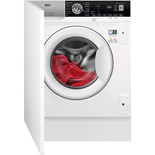 AEG L7WE7631BI 7000 Series 7kg Wash 4kg Dry 1550rpm Integrated Washer Dryer With Steam - White