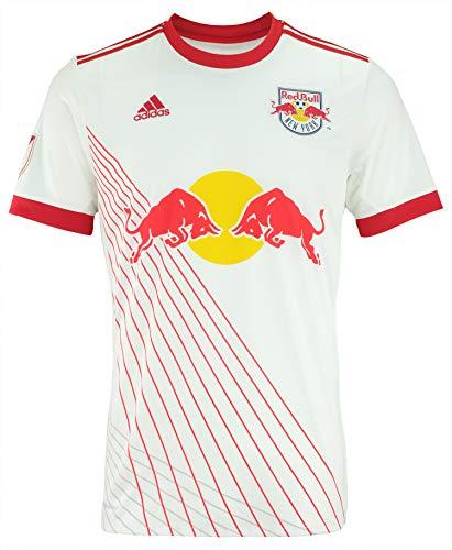 adidas MLS Men's Replica Short Sleeve Team Jersey, New York Red Bulls Medium