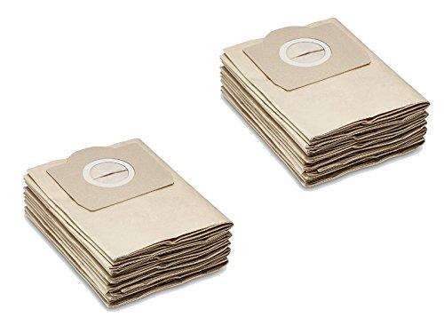 Papel de filtro de bolsas como 6.959-130.0Válido para Kärcher wd2, WD3, MV2, MV3, a2054, A2201, etc. de la Casa M & M Smartek Alemania 5/10Stk