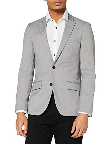 find. Traje de Vestir de Corte Entallado Hombre, Gris (Light Grey), 48R, Label: 38R