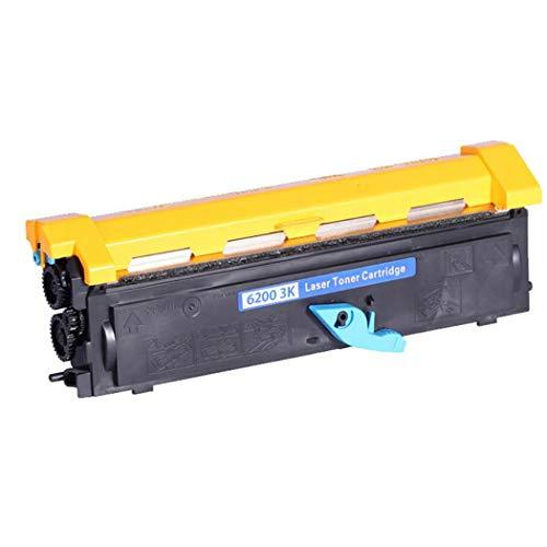 Compatible con tónerCompatible con EPSON S050087 EPL-5900 5900L 6100 6100L Cartucho de tóner Número de páginas impresas: 3000 Páginas - Negro Drumrack