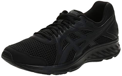 Asics Jolt 2, Zapatillas de Deporte para Hombre, Negro (Black/Dark Grey), 42.5 EU