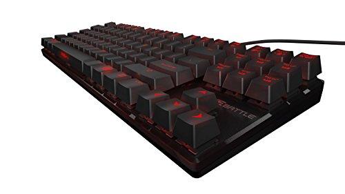Ozone - Teclado StrikeBattle Gaming negro