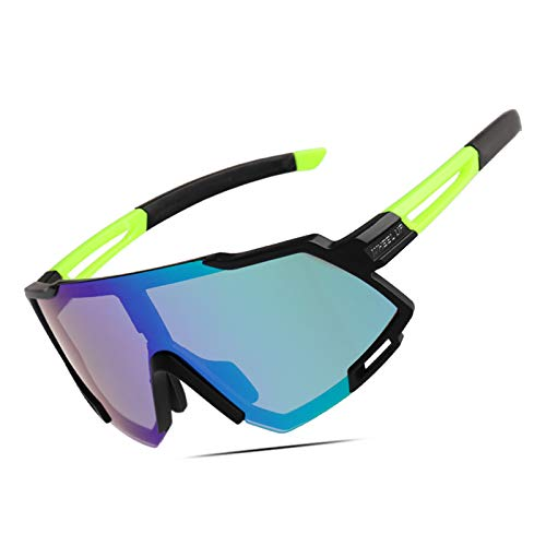ZTLY Outdoor Sunglasses Trend Riding Glasses Polarized Sports Mirrors Are Lightweight And Suitable for Outdoor Fishing And Riding,A