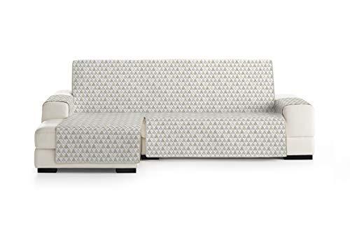 Eysa Nordic Funda, Poliéster, Beige, Chaise Longue Extra 290cm. Válido para sofá Desde 300 a 350cm