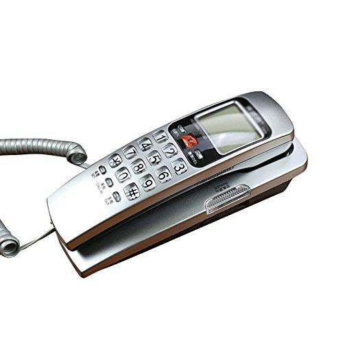 NYDZDM Colgante de Pared Creativo de la Oficina del Hotel del hogar de la Moda del teléfono de la Pared montado en la Pared (Color : A)