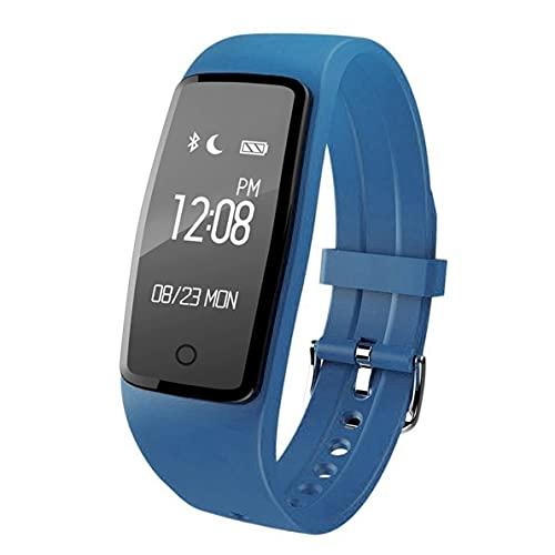 Reloj Inteligente S1 con frecuencia cardíaca, Resistente al Agua, múltiples Modos de Fitness, recordatorio de Llamada, Pulsera de vibración, Activado por Gestos