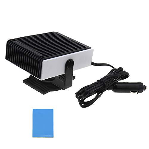 Draagbare auto ventilator 12 V Volt voorruit ontdooimachine 2 in 1 auto kachel 122x105x65mm 150W 1.5M kabel CE-certificering